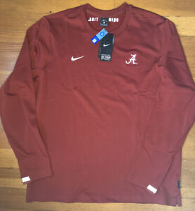 Nike Men's Alabama Crimson Tide Roll Tide Pullover Fleece Size XL CQ5032-698 NWT