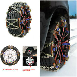 Wheel Tire Snow Anti-skid Chains for Car Truck SUV Emergency Winter Universal