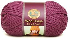 Lion Brand Yarn Company 1-Piece Wool-Ease Thick And Quick, Fig UK POST FREE