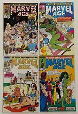 Marvel Age SHE-HULK #53 70 73 76 Comic Fanzine 4pc Lot VF- 7.5 to VF 8.0