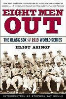 EIGHT MEN OUT Eliot Asinof FREE SHIPPING paperback book Black Sox World Series 8
