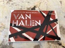 Van Halen Best of Both Worlds Promo Sticker Post Card 2004 Sammy Hagar (B-3)