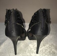 PIED A TERRE BRAND BLACK SIZE 6 HIGH HEELS