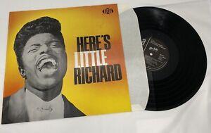 Little Richard Here's Little Richard MONO Vinyl Album Record LP 1985