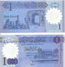 Libyen / Libya - 1 Dinar (2019) UNC - Pick New, Polymer