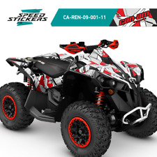 CAN AM RENEGADE (1000 800 800r 800x 500) AMAZING GRAPHICS DECALS +FREE P&P+GIFT