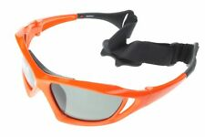 Polarized Water Sport Sunglasses Surf Kitesurfing Glasses Orange Gray 601