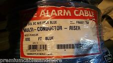 Southwire/Tappan F60001 575603 14/2C Sol Fire Alarm Cable Blue Riser CMR /100ft