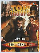Doctor Who Top Trumps Series Three Moray Laing Haynes 2007 Paperback G+Condition