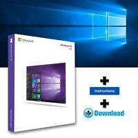 Windows 10 Pro Professional 32-64bits Licencia digital - Entrega en 3 segundos