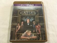 The Great Gatsby 3D (2013) - JB Hi-Fi Lenticular Cover 2-Disc Blu-Ray | VGC