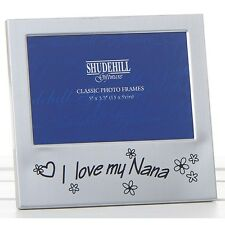 I Love My Nana Birthday Anniversary Photo Frame Gift Present Shudehill 72227