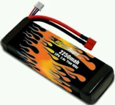 MAXAMPS LiPo 2250mah 2s 2-cell 7.4v traxxas 1/16 Summit  35+mph 22 min run times