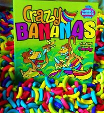 Dubble Bubble Crazy Bananas Candy 2 lbs