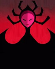 """""""High Priestess"""" =Samurai Jack= 8x10 Personalized for You by Voice Grey Delisle"""