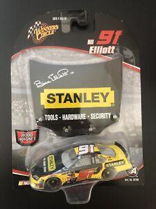 2005 #91 Bill Elliott Stanley Tools 1/64 NASCAR Winner's Circle Diecast New Rare