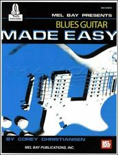 Blues Guitar Made Easy TAB Music Book/Audio Method SAME DAY DISPATCH