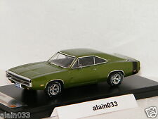 DODGE CHARGER 500 Green 1970 PremiumX 1/43 Ref 390J