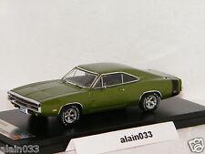 DODGE CHARGER 500 Green 1970 PremiumX 1/43 Ref 390J
