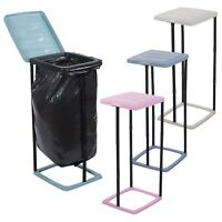60L Collapsible Garbage Bin Bag Holder Stand Plastic Waste Rubbish Sack Recycle