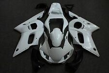 Unpainted Drilled ABS Plastic Bodywork Fairing Kit for Yamaha YZF R6 1998 - 2002