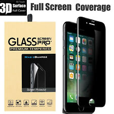 Full Coverage Privacy Tempered Glass Screen Protector For iPhone SE 6s 6 Plus 7
