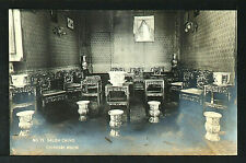 CHINA 32-Chinesse Room (Real Photo (RPPC)
