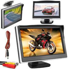 """Mini 5"""" LCD Car Rear View Monitor HD Screen 800*480 + 12LEDs Car Reverse Camera"""