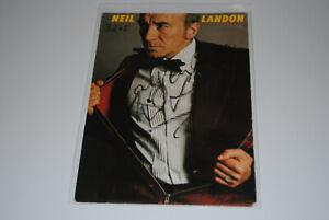 Neil Landon  Autogramm Foto Autogrammkarte B275