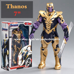 """New Thanos Marvel Avengers Legends Comic Heroes Action Figure 7"""" Kids Toys Gifts"""