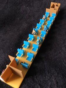 Gold Rush Bay COLOR HO SCALE ATHEARN STREAMLINE PASSENGER TRAIN INTERIOR