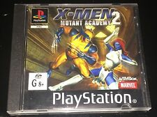 Sony PlayStation Game X-Men Mutant Academy 2