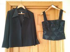 Bnwt Veni Infantino Mother Of Bride, Wedding,  Jacket,skirt suit  Size 12 navy