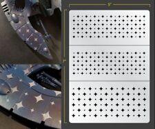 Retro Jester Diamonds Airbrush Stencil Texture Patern Schablonen Maskierung