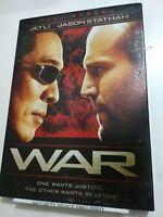 War DVD, Jason Statham, Jet Li, Phillip Atwell