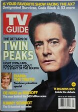 TV Guide May 15-28 2017 Return of Twin Peaks Diana The Truth FREE SHIPPING sb