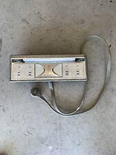 Rare Vintage Sunbeam Automatic  Control Panel  And A Light.