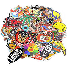 100-Pcs Pack Sticker Bomb Decal Graffiti Roll mix Car Skateboard Laptop Luggage