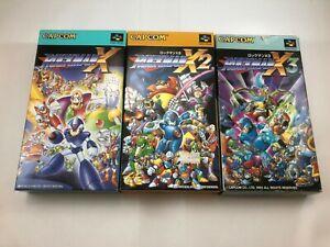 Rockman X, X2 & X3; Super Famicom; Japan Import