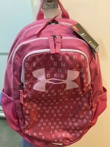 under Armour pink ua scrimmage storm water repellent backpack durable unisex 25L