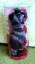 Barbie Doll My Scene Fashion Fever Sparkle Glitter Ruffle Pink Gown Dress Outfit