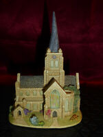 LILLIPUT LANE Crooked Spire, Chesterfield Britain's Heritage L2658 2003 Ornament