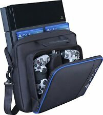 Black for PS4 Playstation 4 Accessories Hand Multi-function Travel Storage Bag
