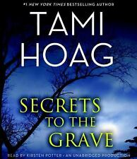 Tami Hoag SECRETS TO THE GRAVE Unabridged CD *NEW* FAST Ship!
