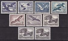 Österreich-Vogelsatz 1950/53 pf**9 Werte-überkomplett !