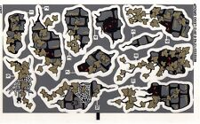 LEGO 9468 - Monster Fighters Vampyre Castle (Red Eyes Version) - STICKER SHEET