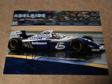 Nigel Mansell Hand Signed 1994 Williams F1 Photo Large.