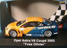OPEL ASTRA V8 COUPE #19 DEUTSCHE TOURING 2002 YVES OLIVIER SCHUCO 04806 1/43