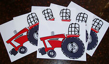 "SET of 6 ""International, IH,Farmall"" Original DECAL/STICKER PULLER Tractor LEFT"