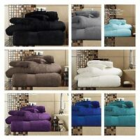 2 X Super Large Bath Towels Sheets 650 GSM100% Egyptian Cotton Jumbo  95cmX200cm